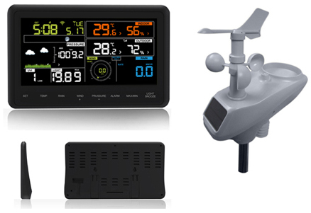 Professional Colorful WIFI + APP  Weather Station AW006