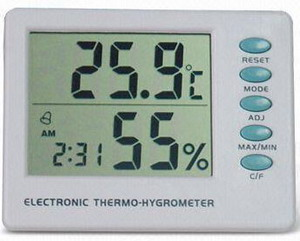 Thermometer Hygro and Clock AMT-106