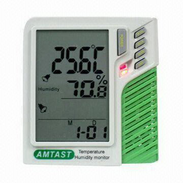 Wall mount / desktop Temp. Humidity Monitor AMT207