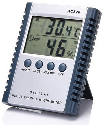 Indoor / Outdoor Thermometer Hygrometer HC-520