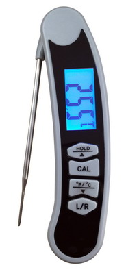 2 Way Fast Read Digital Folding Thermocouple Thermometer AMT225