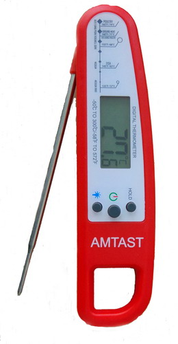Instant Read Digital Folding Thermometer AMT226