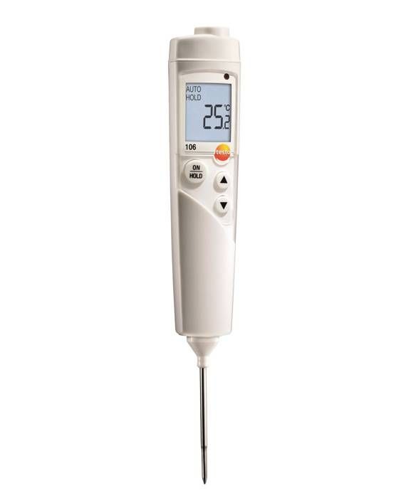 Testo 106 kit - Food probe thermometer set