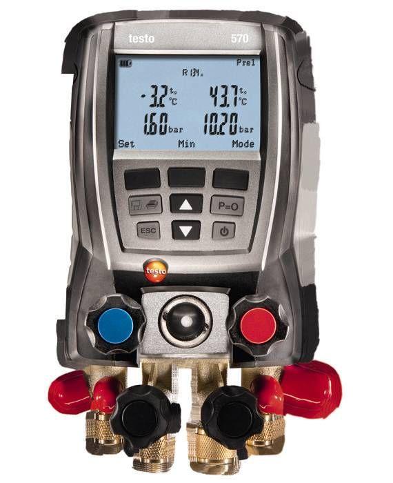 Testo 570-1 Set - Refrigeration manifold