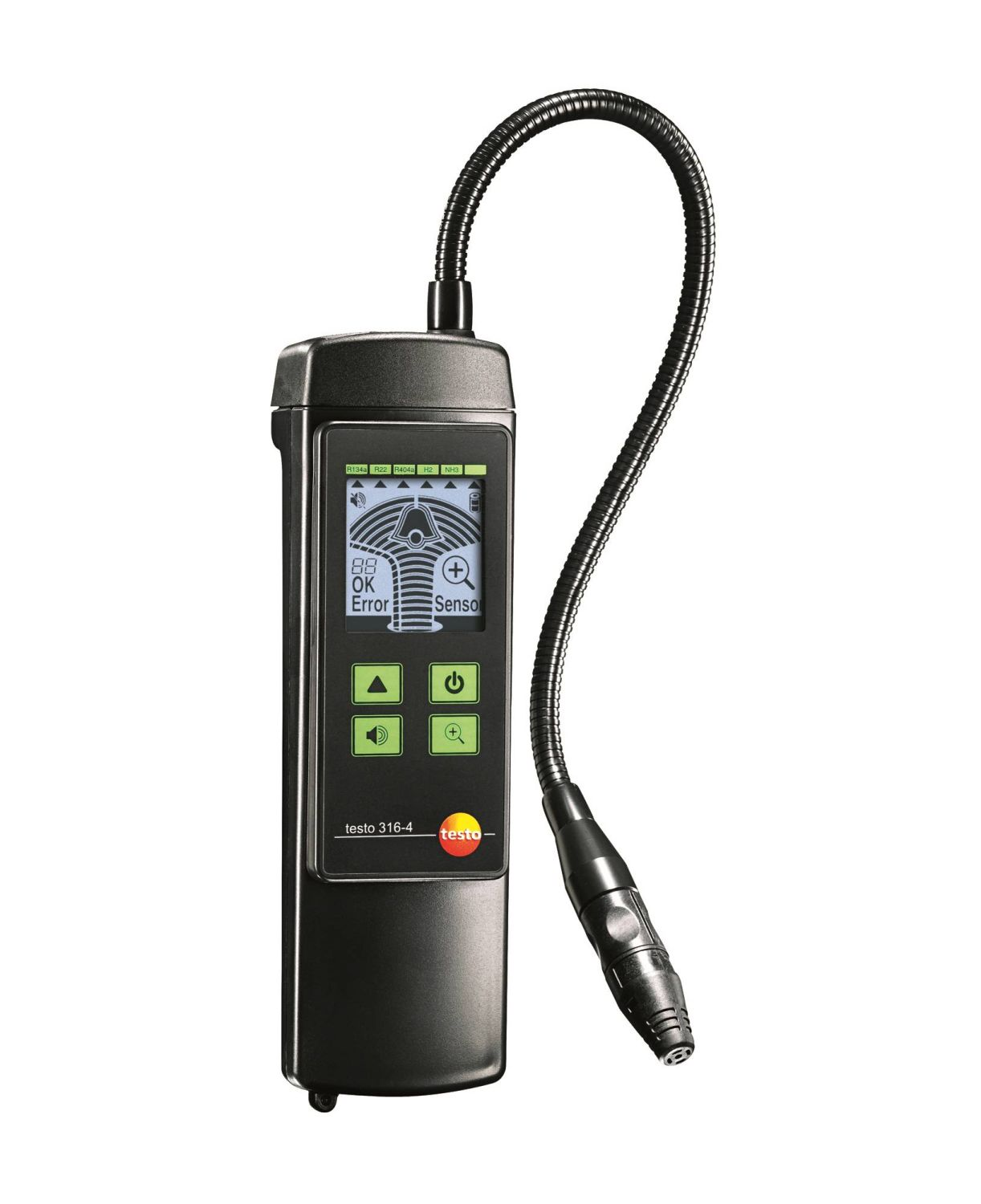 Testo 316-4 set 2 - leak detector for ammonia (NH3)
