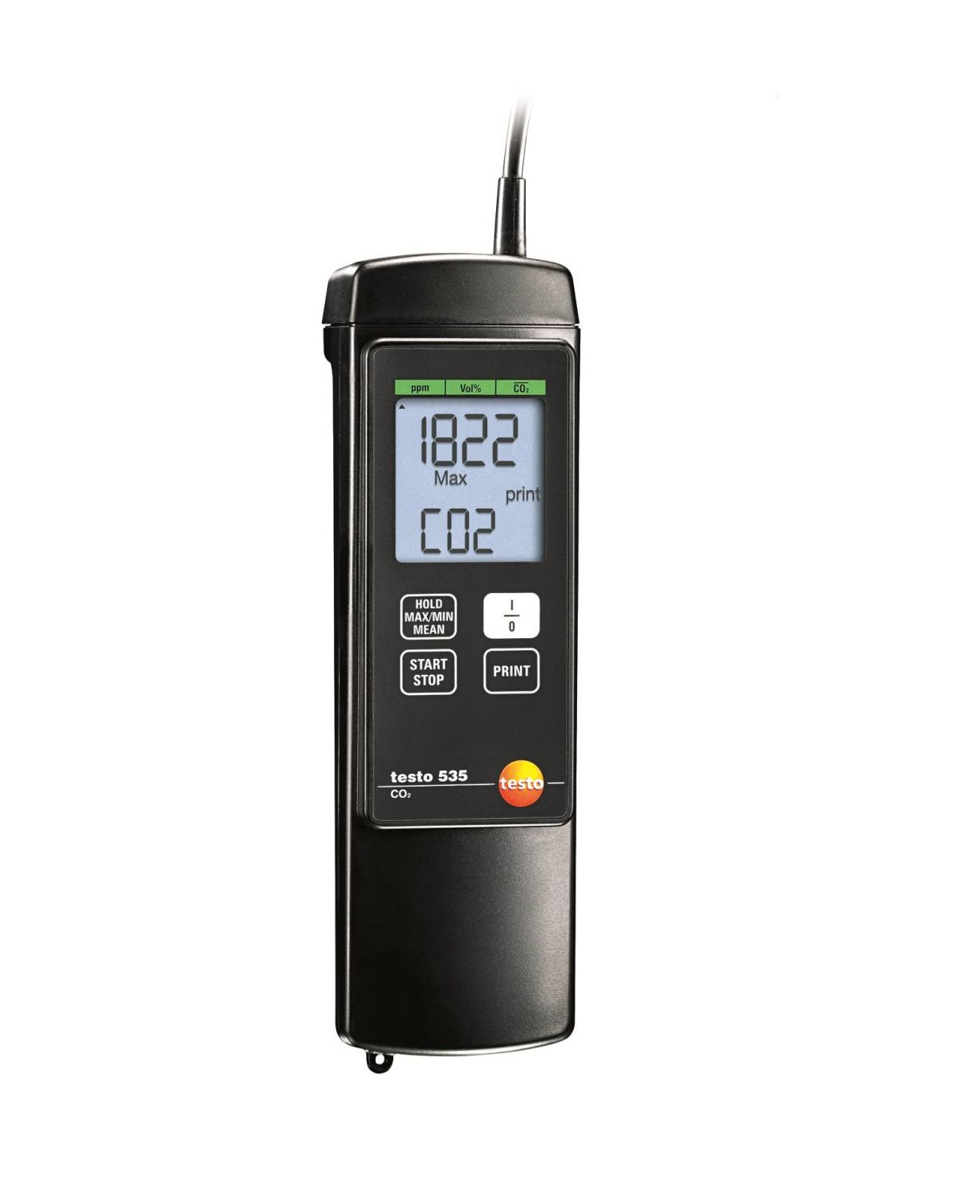 testo 535 - CO2 meter for CO2 measurement in ambient air
