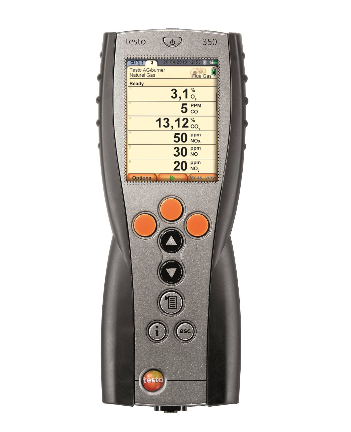 Testo 350 - Control Unit for exhaust gas analyzer