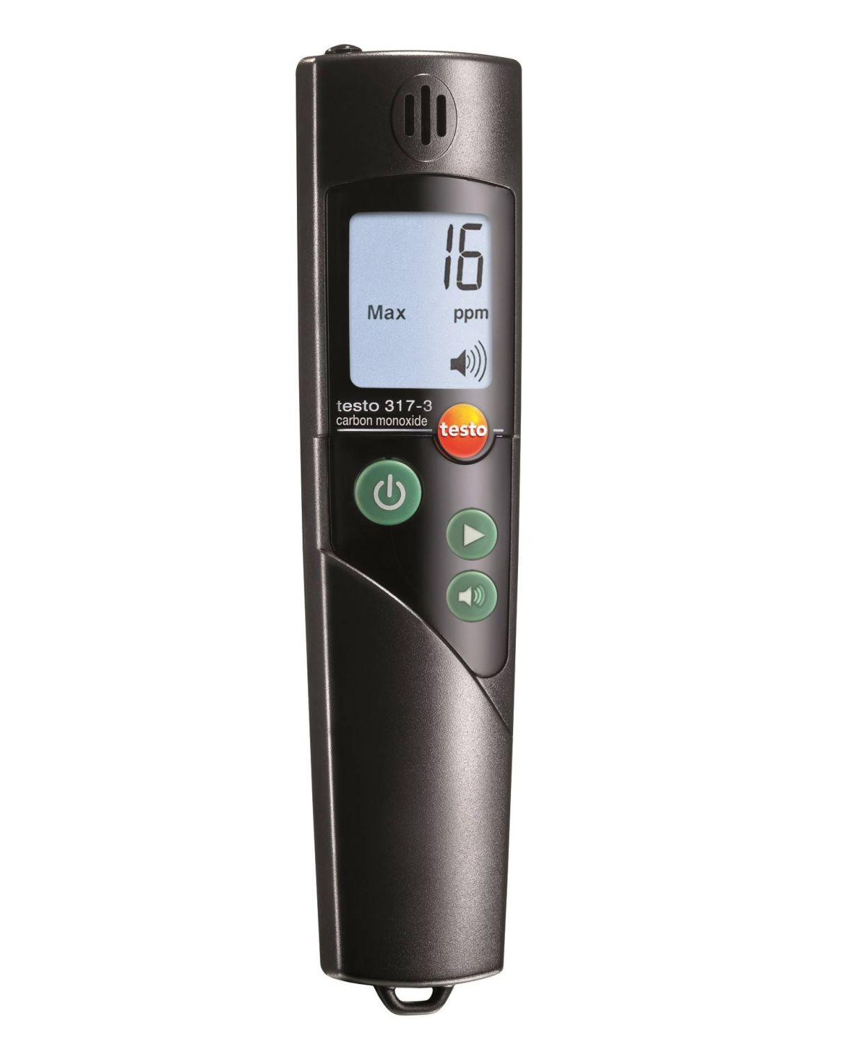 Testo 317-3 - CO detector for measuring CO in the surrounding air