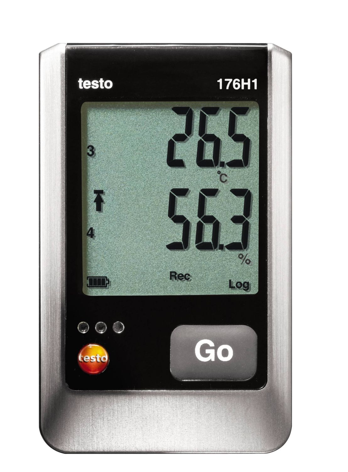 Testo 176 H1 - Temperature and humidity data logger with clear display