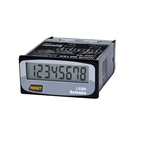 DIN W48×H24mm, Indication Only, LCD Timer (Hour Meter)(LE8N-BN)