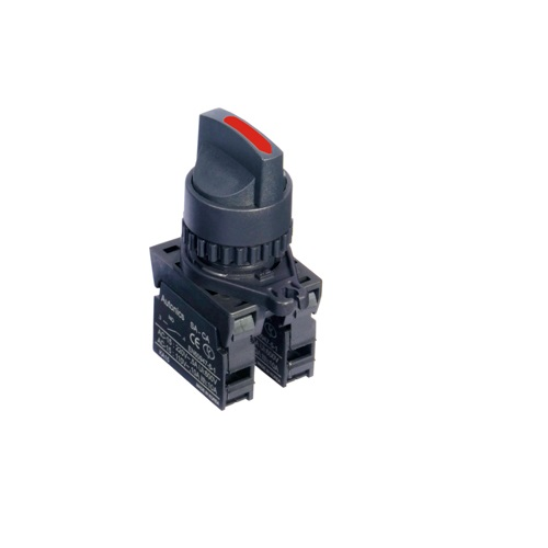 Ø22/25 Short lever selector switches (Non-Flush)-S2SR-S3R2A