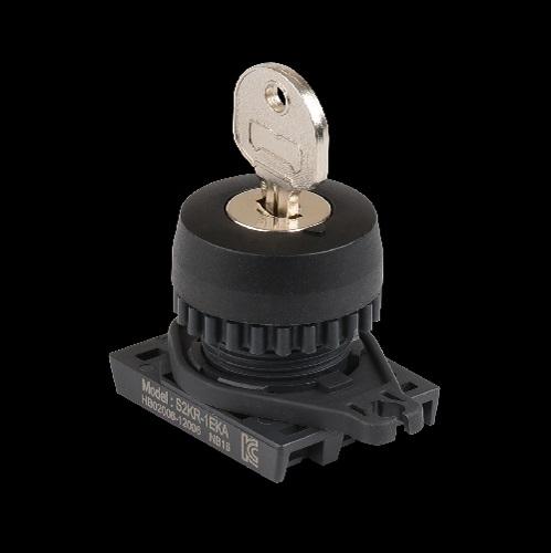 Ø22/25 Key Selector Switches (Extended)-S2KR-1EKA