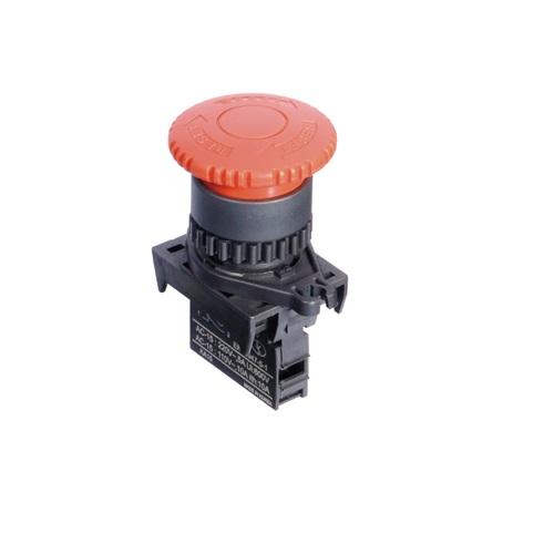 Ø22/25 Head D40 Emergency switches (Non-Flush) -S2ER-E3RA