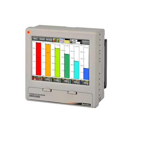 LCD Touchscreen Paperless Recorders-KRN1000-0401-0S