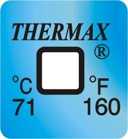 Thermax Encapsulated Indicators range 71 deg c