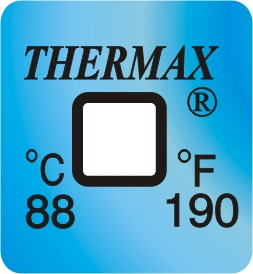 Thermax Encapsulated Indicators range 88 deg c
