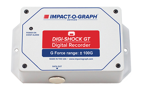 Digi-Shock GT Impact & Temperature Recorder