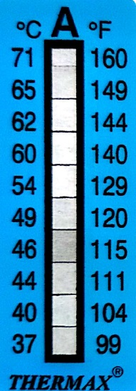 Thermax 10 Level A02 Strips