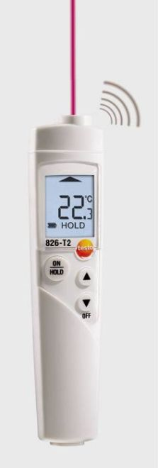 Testo 826-T2 - Infrared Thermometer For Food