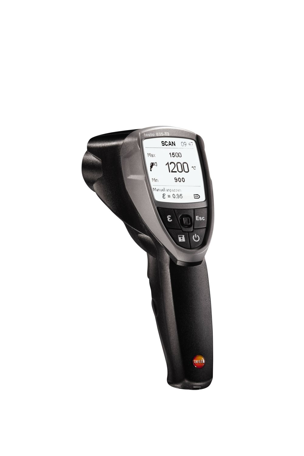 Testo 835-T2 - High temperature Infrared Thermometer