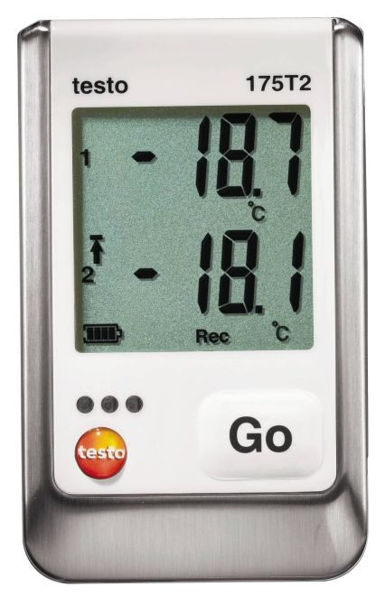 Testo 175 T2 - Two Channel Temperature data logger
