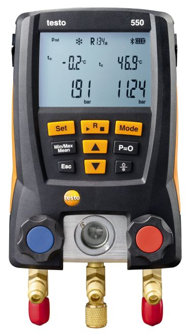 Testo 550 - Digital Manifold