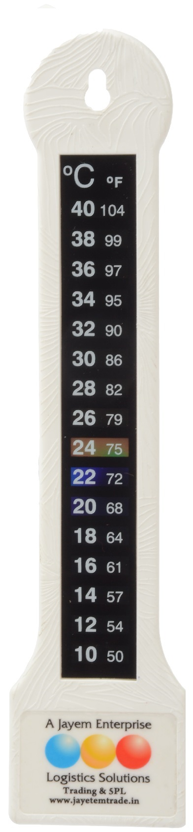 LCR Hallcrest Room Thermometer - Multicolor