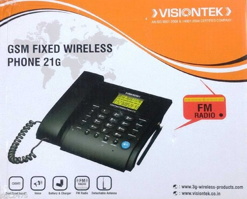 ICHIBAN GSM Fixed Wireless Landline Phone JT-G