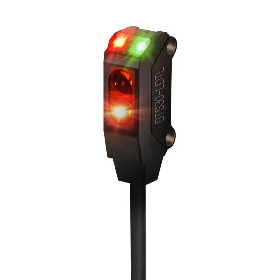 Ultra-compact, ultra-slim type photoelectric sensors BTS series-BTS30-LDTL-P
