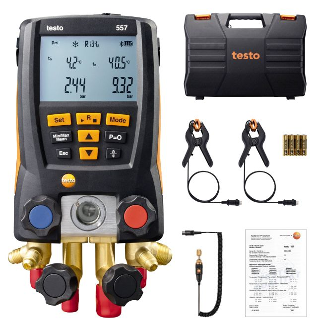 Testo 557 set - Digital vacuum gauge