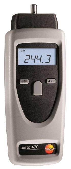 Testo 470 - Digital tachometer
