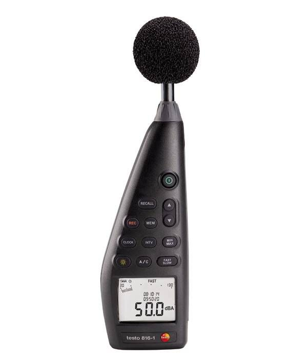 Testo 816-1 - dB meter for sound level measurement