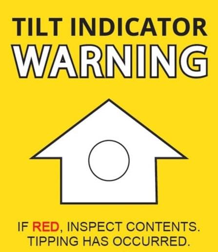 Tilt Indicator Labels