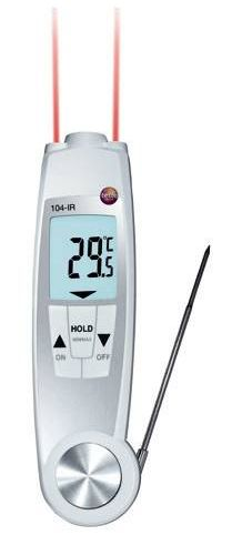Testo 104-IR food safety thermometer - Food safety thermometer